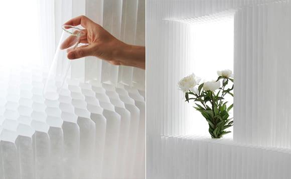 kreative wandgestaltung und raumtrennung mit mobilen trennwandsystemen aus textil und papier