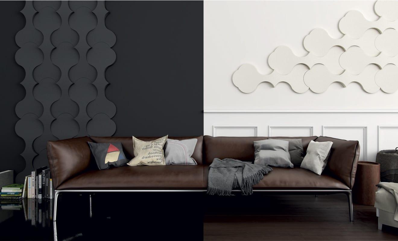 Kreative wohnideen für moderne wandgestaltung und farbgestaltung ...
