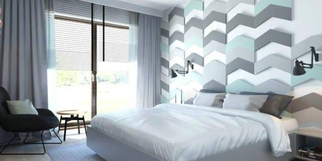 wohnidee schlafzimmer für moderne wandgestaltung und farbgestaltung ...