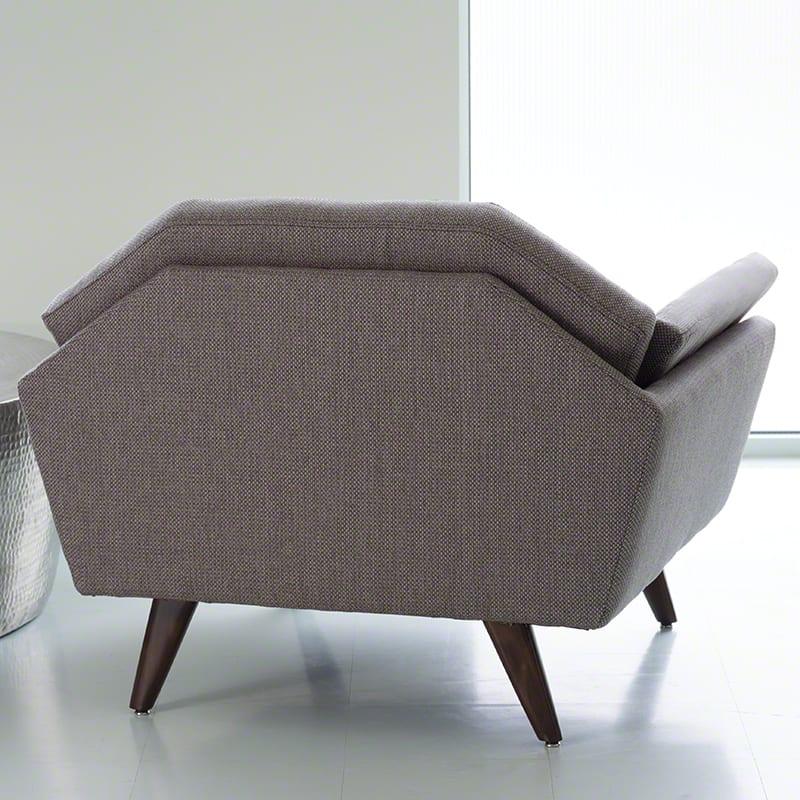 lounge sessel grau für modernes wohnzimmer design in holz und grau