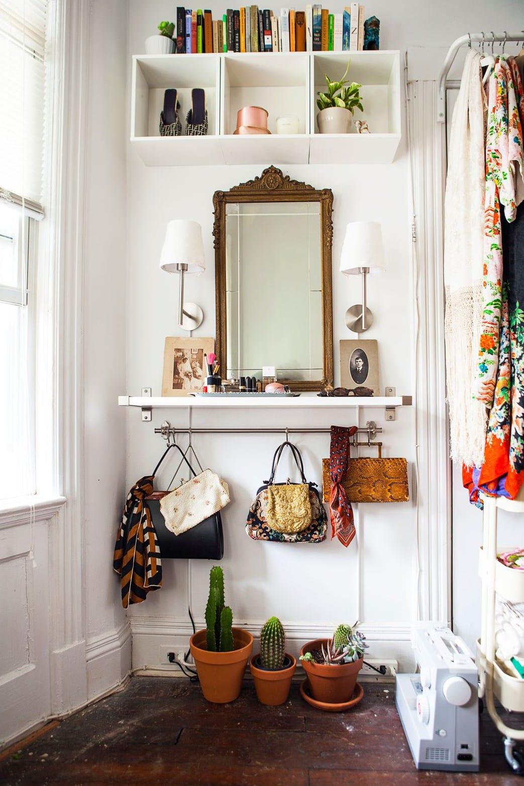 kleine eingangsbereiche gestalten und klug einrichten mit IKEA