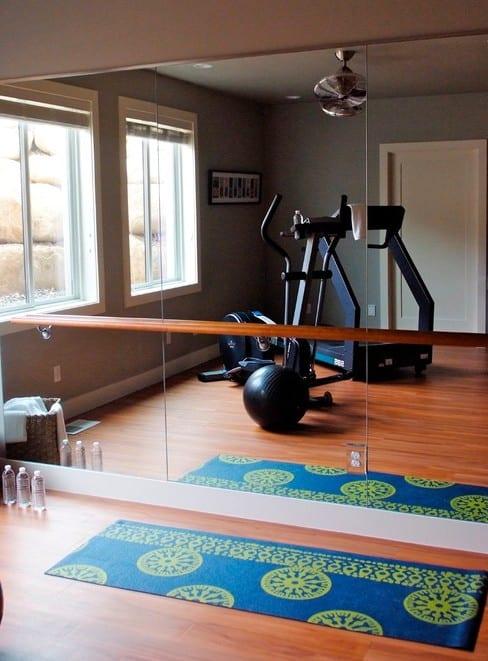 fitness zuhause einrichten als lady fitness für pilates