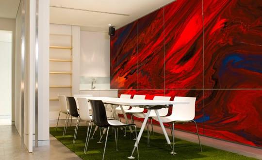 Wandgestaltung ideen f r moderne wandgestaltung mit farbe im wohnzimmer freshouse - Wandgestaltung mit farbe wohnzimmer ...