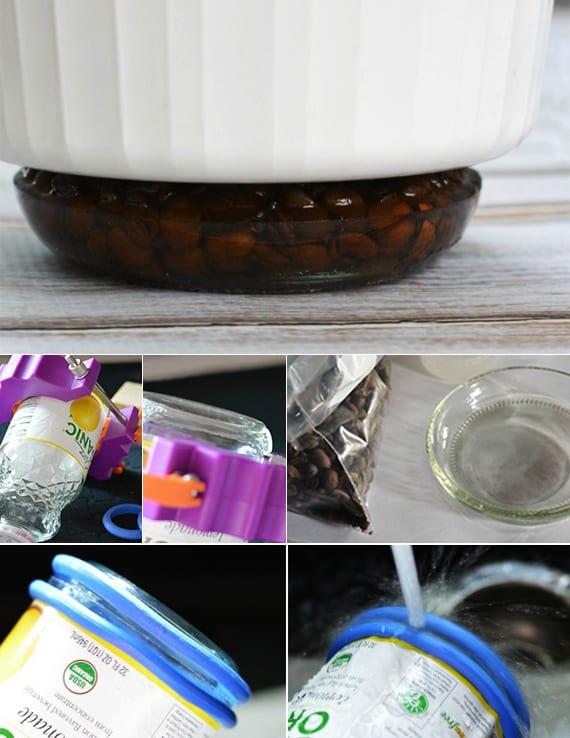 coole bastelidee und deko mit kaffeebohnen_DIY Untersetzer rund