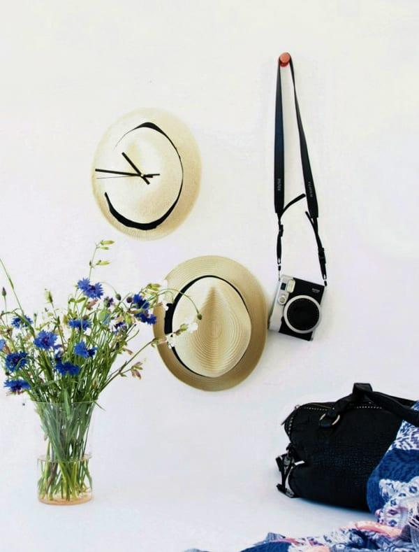 Bastelidee für kreative Wanduhren - fresHouse