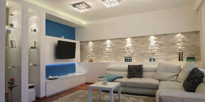 Coole beleuchtungsideen f r wohnzimmer mit indirekter beleuchtung freshouse - Coole lampen wohnzimmer ...