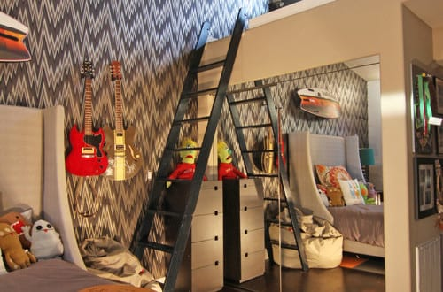 coole zimmer ideen f r jugendliche und interessante jugendzimmer einrichtungsideen mit hochbett. Black Bedroom Furniture Sets. Home Design Ideas