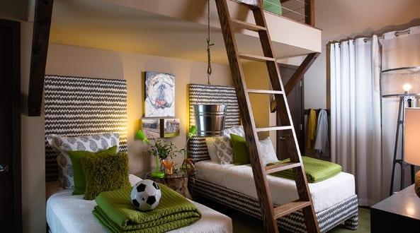 Coole zimmer ideen f r jugendliche und jugendzimmer - Jugendzimmer mit etagenbett ...