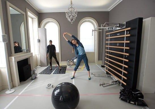 eigenes fitnessstudio zu hause einrichten freshouse. Black Bedroom Furniture Sets. Home Design Ideas