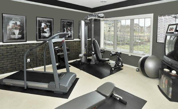 eigens fitnessraum einrichten zu hause