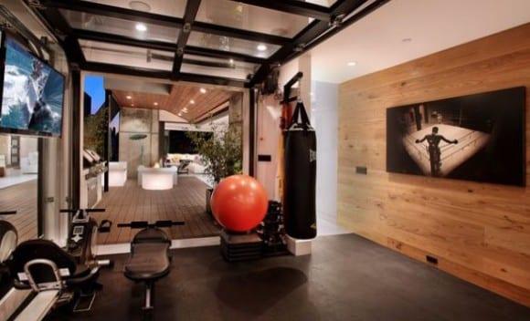 fitnessstudio zu hause modern einrichten - fresHouse