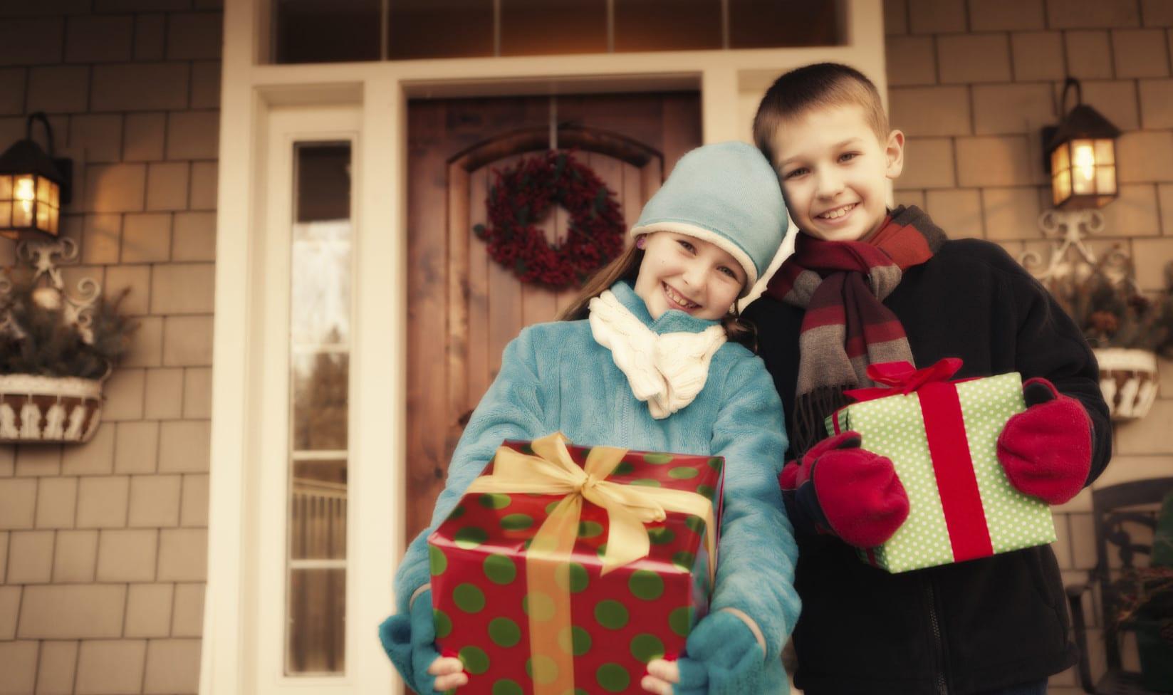 haustür weihnachtlich dekorieren zur weihnachtszeit_moderne Haustüren für modernes haus