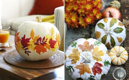 Herbstdeko Basteln Mit K 252 Rbissen Und B 228 Ume Bl 228 Tter Freshouse