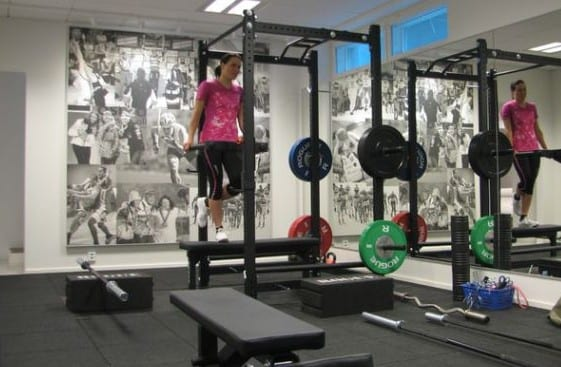 wanddeko ideen für fitnessstudio zu hause