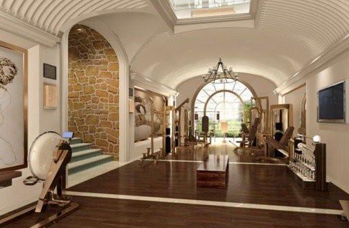 luxus fitessstudio zu hause einrichten - fresHouse