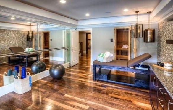Fitnessraum im keller einrichten  eigenes Fitnessstudio zu Hause einrichten - fresHouse