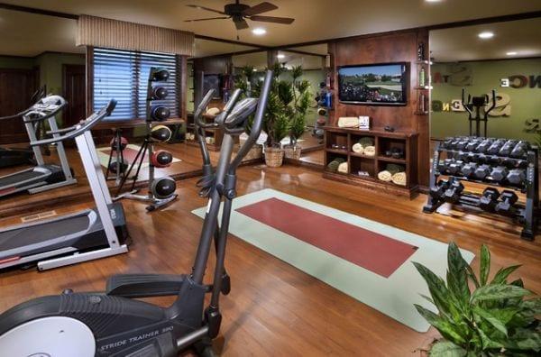 eigenes fitness center zu hause einrichten