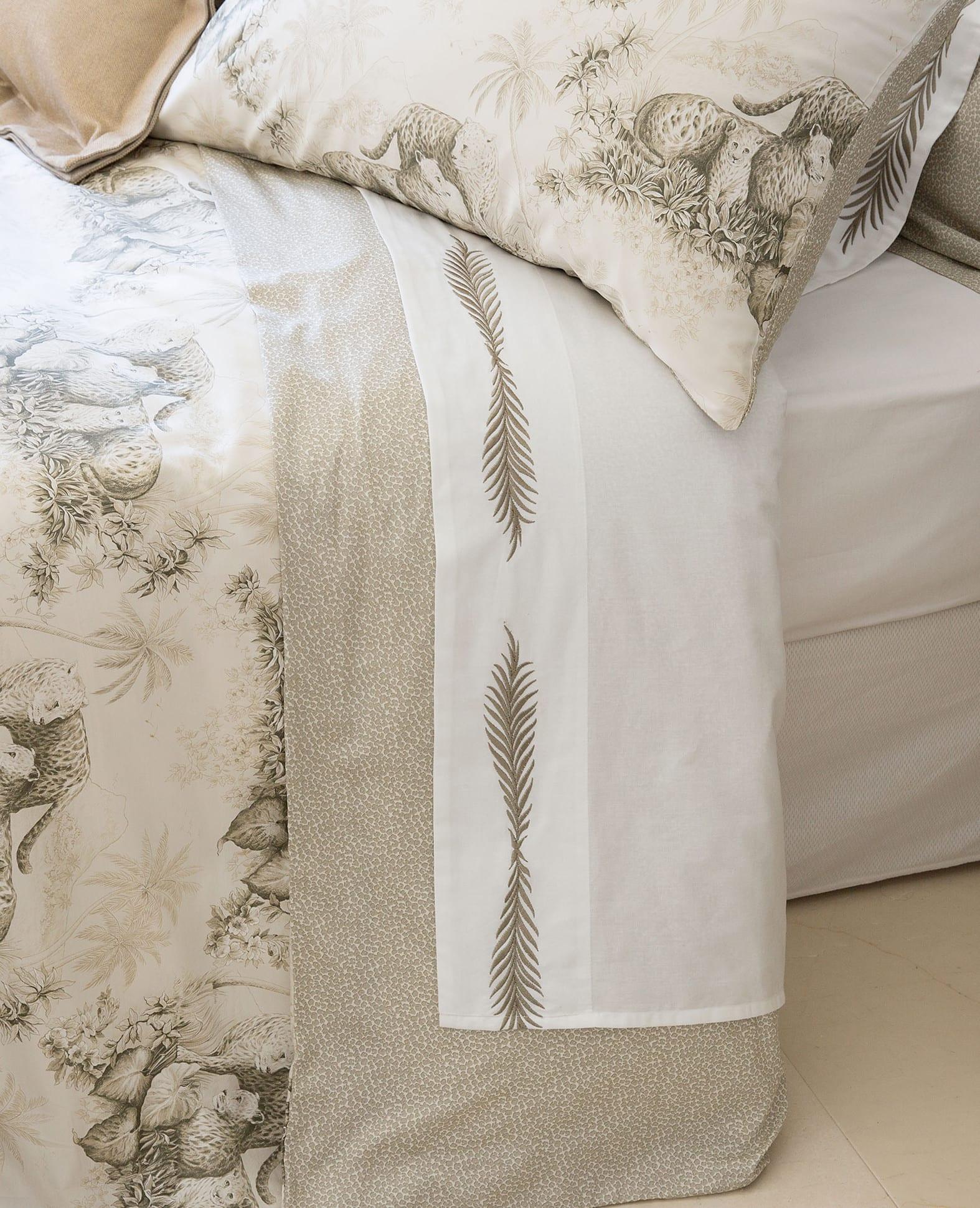 zara bettwäsche beige mit stickerei für gemütliche schlafzimmer einrichtung