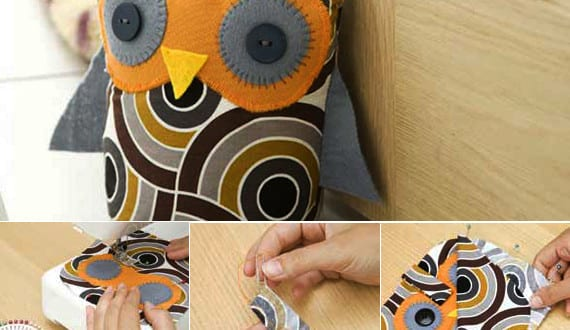 t rstopper n hen diy t rstopper eule freshouse. Black Bedroom Furniture Sets. Home Design Ideas