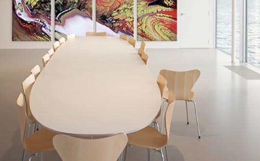 wandgestaltung ideen f r moderne und kreative wandgestaltung mit farbe im b roraum freshouse. Black Bedroom Furniture Sets. Home Design Ideas