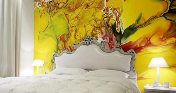 Wandgestaltung Ideen für eine moderne Wandgestaltung mit Farbe