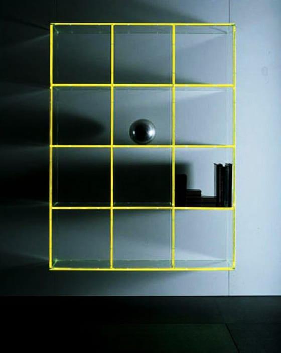 kreative einrichtungsideen wohnzimmer mit glas regal_coole regale mit beleuchtung als licht idee und dekoidee wohnzimmer