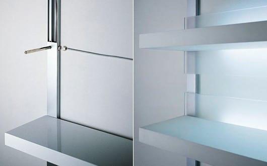 wandregale f r moderne wandgestaltung mit led regalen und indirekter beleuchtung coole regale. Black Bedroom Furniture Sets. Home Design Ideas