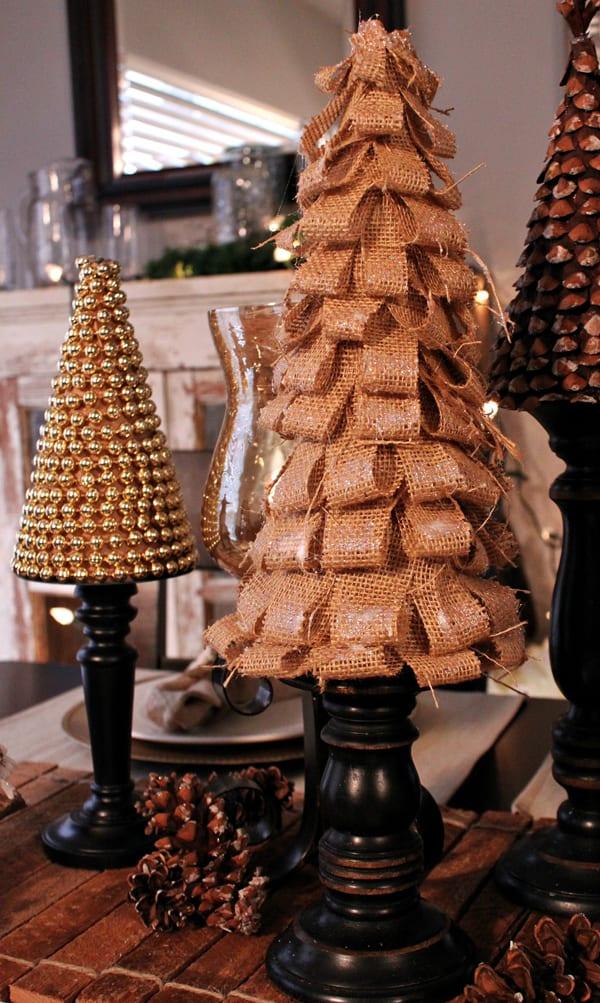 bastelideen weihnachten für kreative weihnachten tischdeko