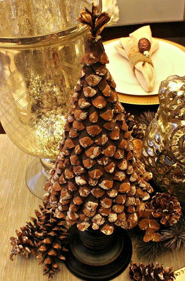schöne weihnachten_schöner tischdeko weihnachten basteln
