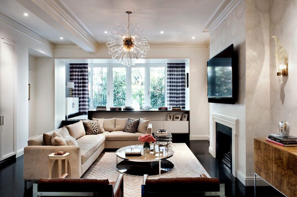 kreative wohnideen wohnzimmer und coole zimmer einrichten mit regal als raumteiler und moderne pendellampe