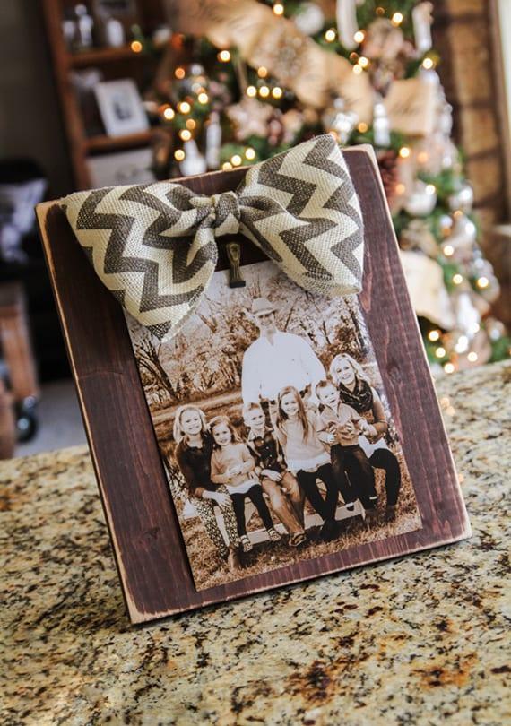 weihnachtsgeschenke selber machen mit fotos