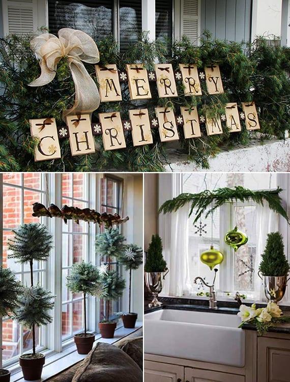fenster weihnachtlich dekorieren