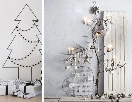 weihnachtsdeko selber basteln und weihnachtlich dekoreieren mit DIY-Weihnachtsbaum