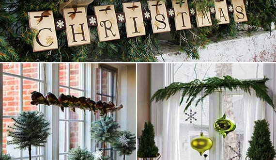dekoideen f r sch ne und frohe weihnachten und fenster. Black Bedroom Furniture Sets. Home Design Ideas