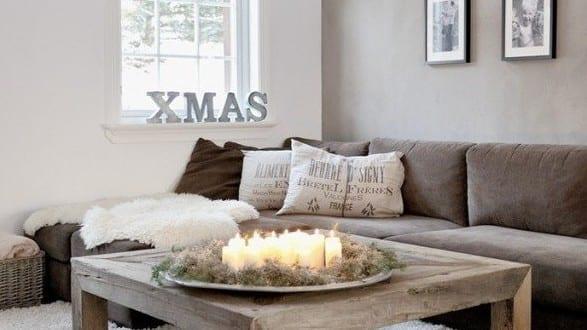 Dekoideen Weihnachten Für Coole Tischdeko Mit Kerzen