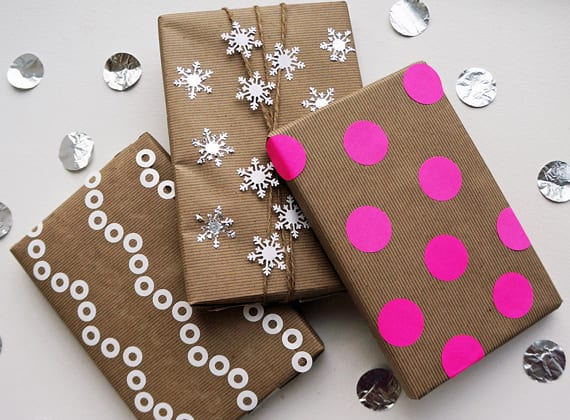 geschenk verpacken_ideen für einfache und interessante geschenkverpackungen aus papier