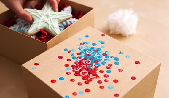 coole idee zum geschenk Verpacken