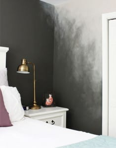 ombre wand streichen ideen f r moderne wandgestaltug freshouse. Black Bedroom Furniture Sets. Home Design Ideas