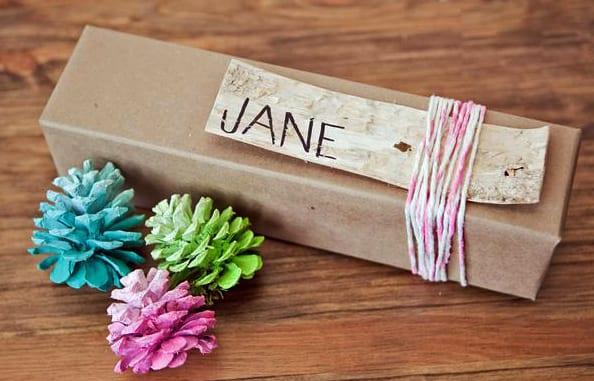 geschenke schnell und interessant verpacken_coole geschenkverpackung basteln für kleine geschenke