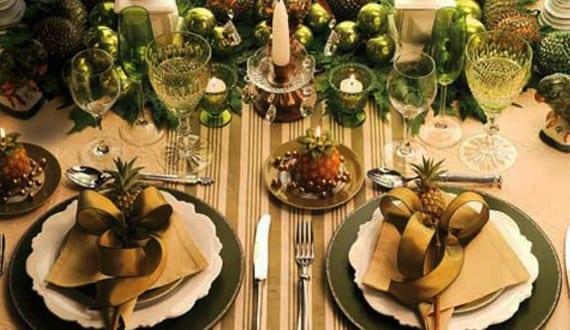 Tischdeko weihnachten grün  servieten-falten-zu-weihnachten_coole-tischdeko-weihnachten-in ...