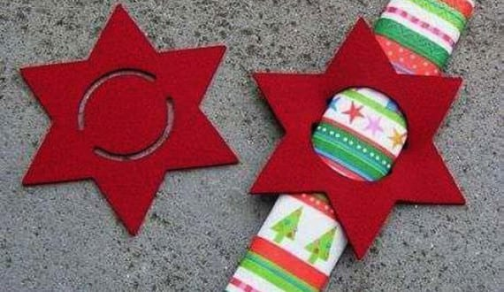 servietten falten coole idee f r tischdeko weihnachten mit