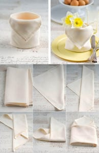 servietten falten coole ideen wie sie stoffservietten