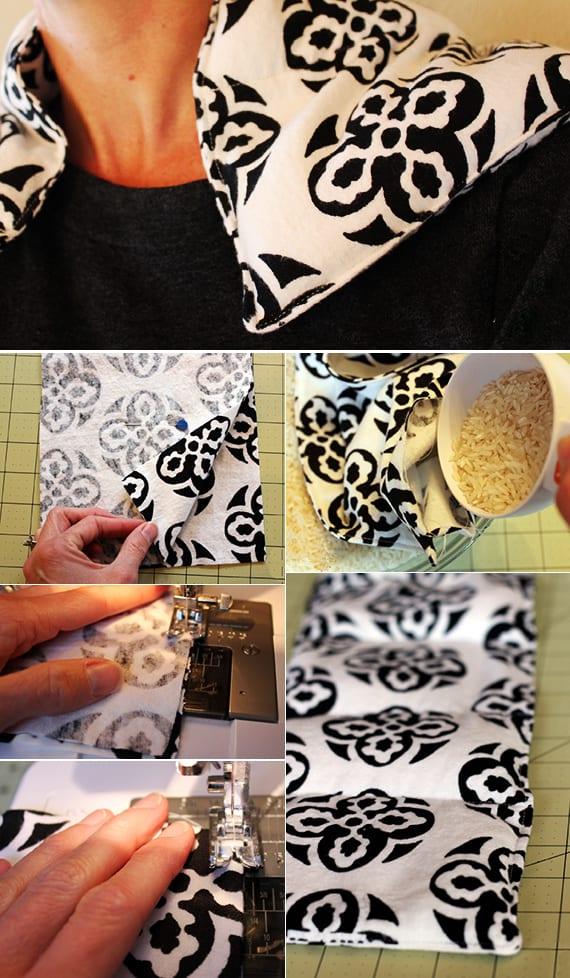 selbstgemachte geschenke und weihnachtsgeschenke selber machen aus textilien