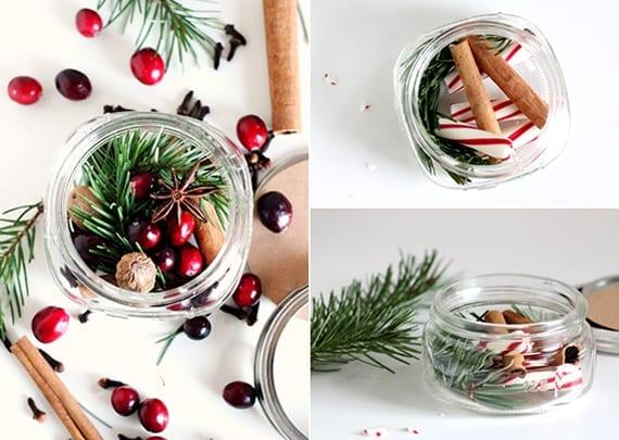 weihnachtsgeschenke selber machen_wunderschöne Geschenkideen für selbstgemachte geschenke zu weihnachten