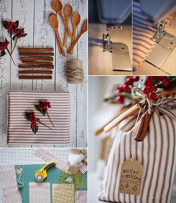 weihnachtsgeschenke basteln und kreativ verpacken_leckere geschenke aus der küche als coole geschenkidee