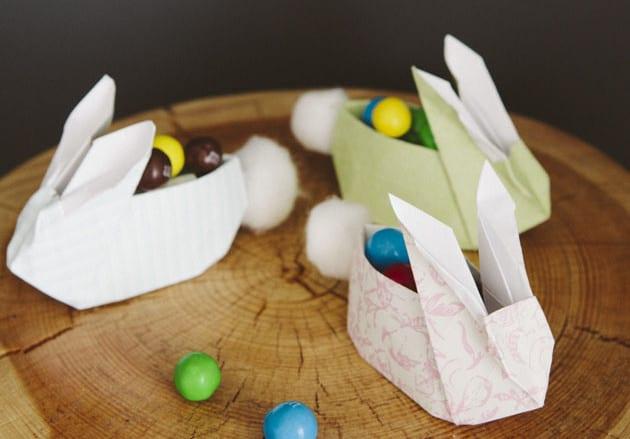 originelle ostergeschenke in osterhase-verpackung basteln für ostern