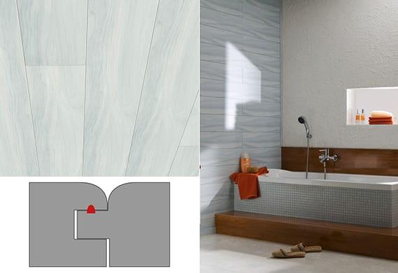 badezimmer ideen für moderne wandgestaltung mit Wandpaneelen_badezimmer einrichten mit badewanne und bad gestalten mit mosaik und holz