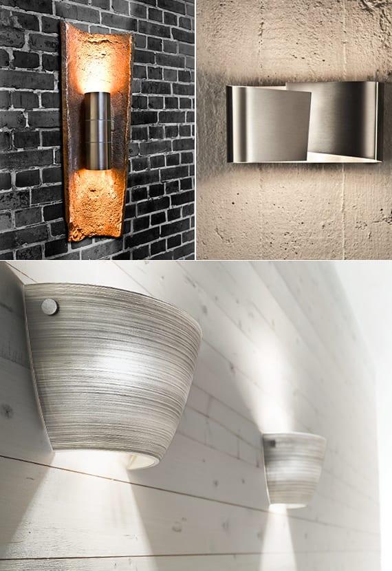 moderne und originelle wandleuchten für kreative wandgestaltung und besondere lichtgestaltung