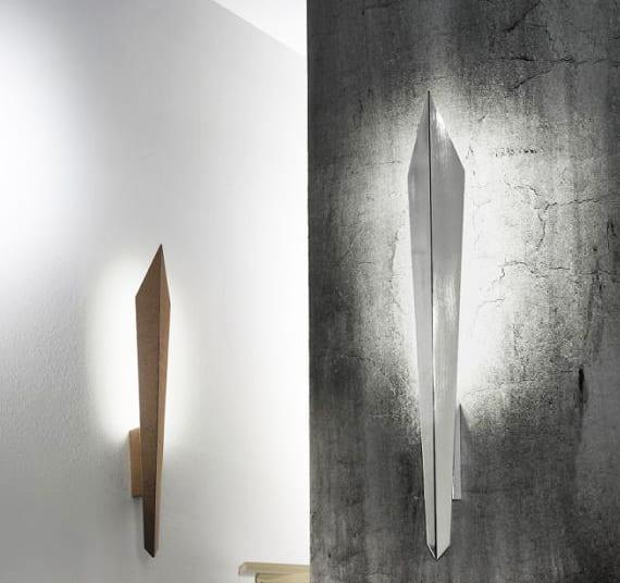 weiße wände und beton wände kreativ gestalten mit designer Wandleuchten