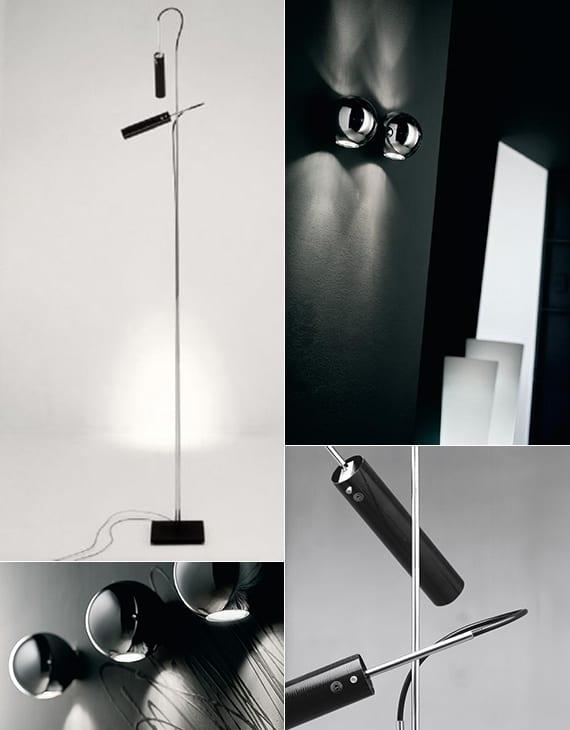 schwarze leuchten für minimalistische einrichtung und gemütliche lichtgestaltung_interior design in schwarz weiß